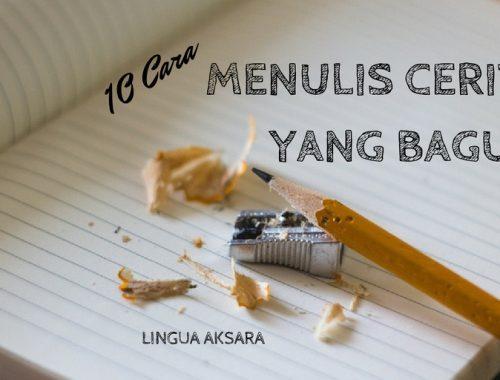 Cara menulis novel
