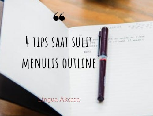 tips menulis outline novel