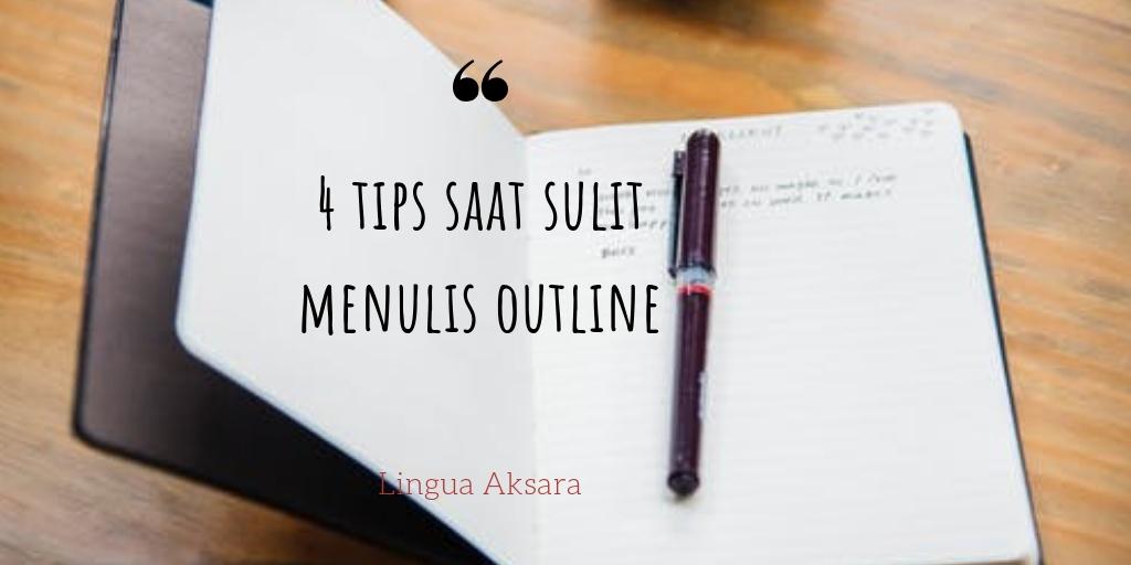 tips menulis outline novel