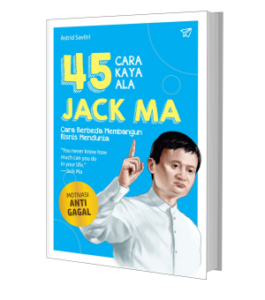 Jack Ma, buku motivasi